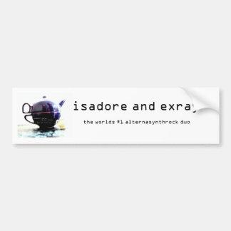 is/ex bumper sticker! car bumper sticker