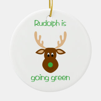 is going green Christmas ornaments