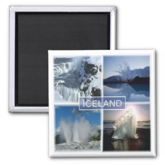 IS * Iceland Magnet
