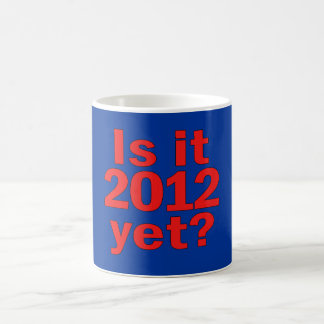 Is it 2012 Yet? Obama's Last Day Mugs