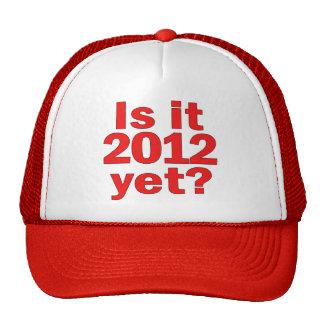 Is it 2012 Yet? Obama's Last Day Trucker Hat