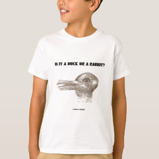 Is It A Duck Or A Rabbit? (Optical Illusion) T-Shirt