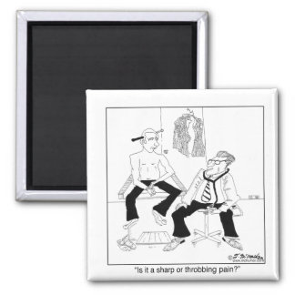 Is It a Sharp or Throbbing Pain? Fridge Magnet