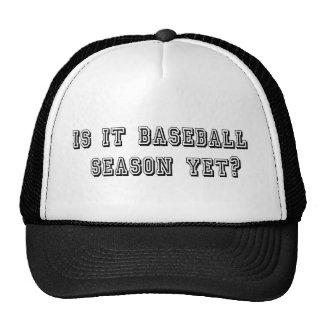 Is it baseball season yet? Trucker hat