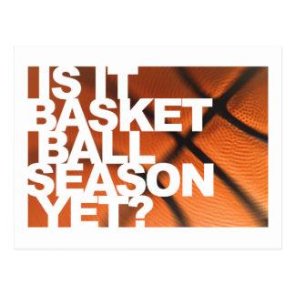 Is It Basketball Season Yet? Postcard