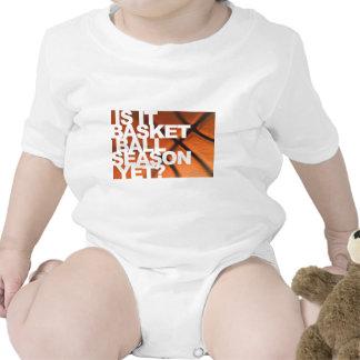 Is It Basketball Season Yet? Baby Bodysuits