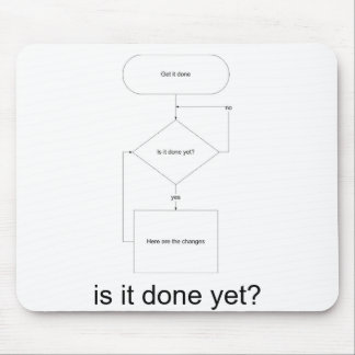is_it_done_yet_back, is it done yet? mouse pad