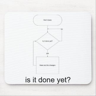 ¿is_it_done_yet_back, se hace todavía? alfombrillas de raton