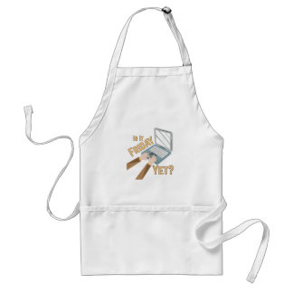 Is It Friday Adult Apron