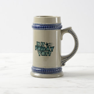 Is It Friday Yet? Beer Stein