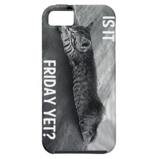 Is It Friday Yet? Funny Cat Design iPhone SE/5/5s Case