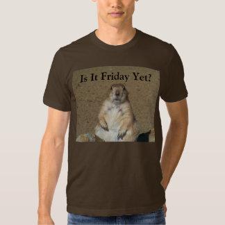 Is It Friday Yet? Marmot T-shirt