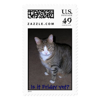Is it Friday yet? Stamp