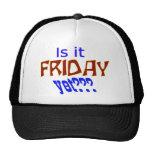 Is it Friday yet??? Trucker Hat