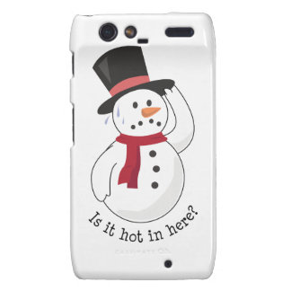 Is It Hot In Here? Droid RAZR Cover