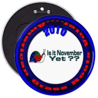 Is It November Yet ? Pin