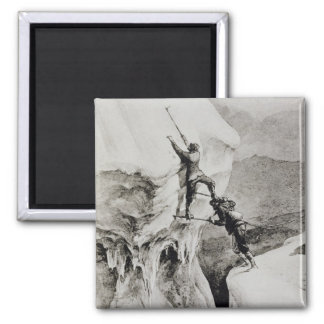 Is it Possible?, from 'Scrambles Amongst the Alps' 2 Inch Square Magnet