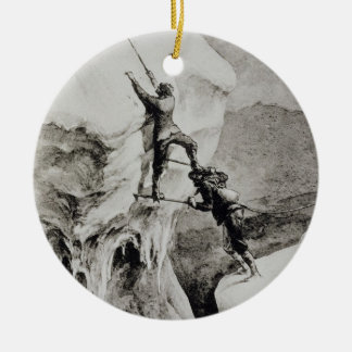 Is it Possible?, from 'Scrambles Amongst the Alps' Ceramic Ornament