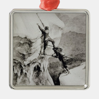 Is it Possible?, from 'Scrambles Amongst the Alps' Metal Ornament