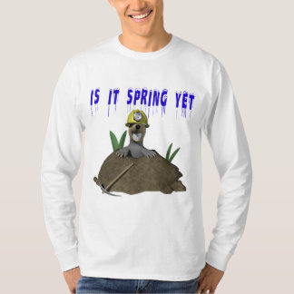 Is It Spring Yet Tee Shirts
