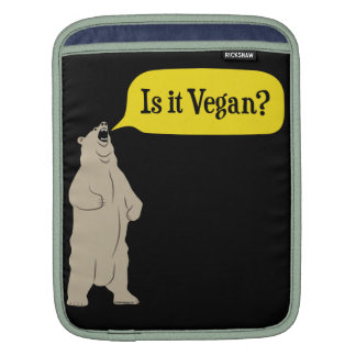 Is it Vegan? Hungry Bear Sleeve For iPads