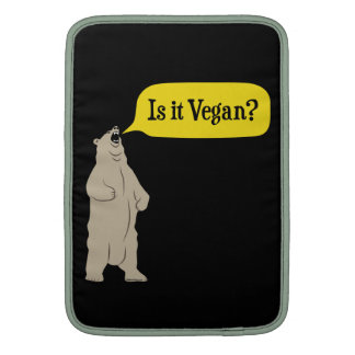 Is it Vegan? Hungry Bear Sleeve For MacBook Air
