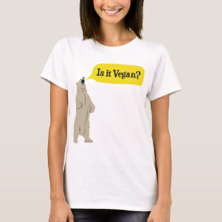 Is it Vegan? Hungry Bear T-Shirt