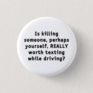 Is killing someone, perhaps yourself, REALLY...? Button