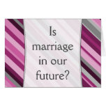 "[ Thumbnail: ""Is Marriage in Our Future?"" + Stripes ]"
