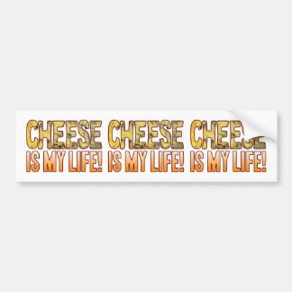 Is My Life Blue Cheese Bumper Sticker