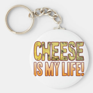 Is My Life Blue Cheese Keychain