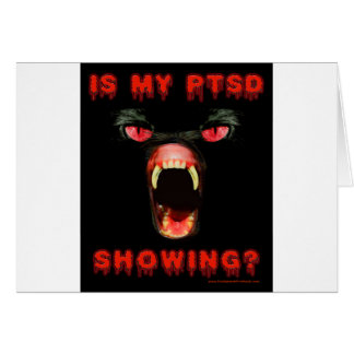 Is My PTSD Showing? Card