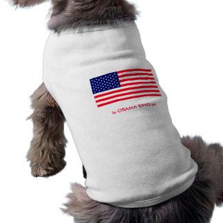 Is OBAMA KING yet Pet T-shirt