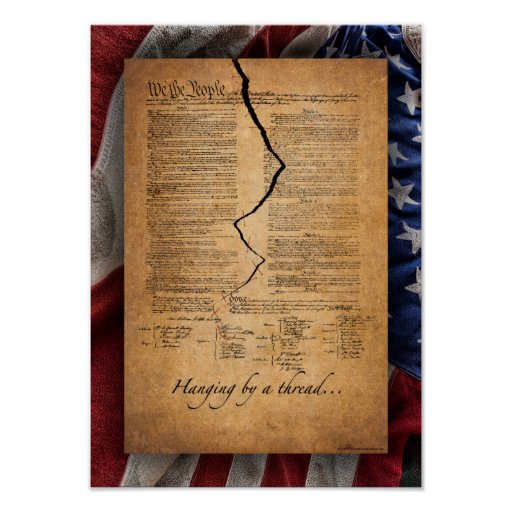 Is Our Constitution... Poster