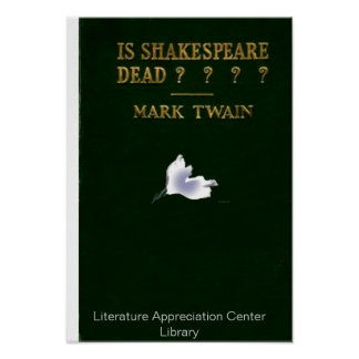 Is Shakespeare Dead? Poster