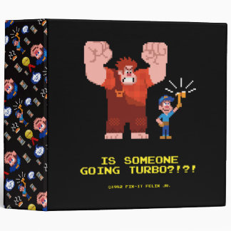 Is Someone Going Turbo 3 Ring Binder