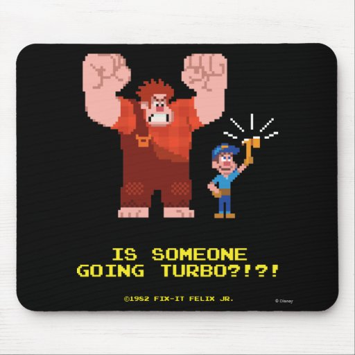 Is Someone Going Turbo Mouse Pad