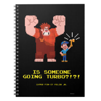 Is Someone Going Turbo Spiral Notebook