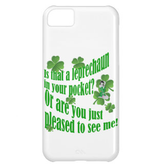 Is that a leprechaun in your pocket cover for iPhone 5C