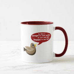 Combo Mug with Scope In Your Pocket? design
