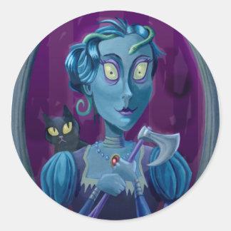 Is That Lizzie Bordon Classic Round Sticker