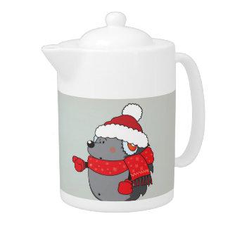 Is that Santa ?! Teapot