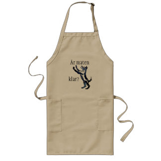 Is the food clear? long apron