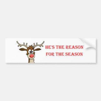 is the Reason Car Bumper Sticker