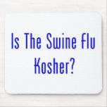 Is The Swine Flu Kosher? Mousepads