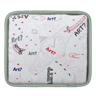 Is This Art? Macbook Air Sleeve rickshawsleeve