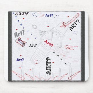 Is This Art? Mousepad mousepad