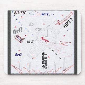 Is This Art? Mousepad mousepad