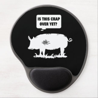 Is This Crap Over Yet? Piggy Gel Mouse Pad