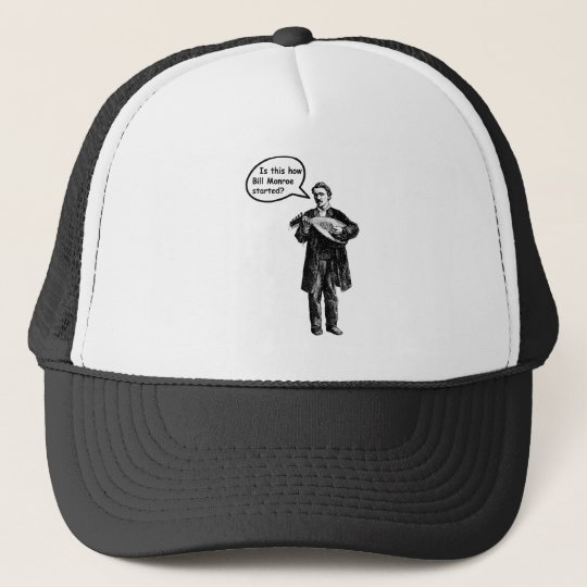 Is this how Bill Monroe started? (Mandolin) Trucker Hat